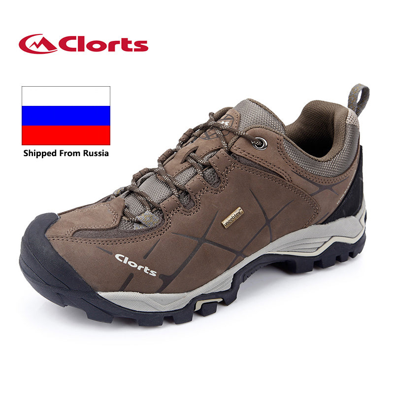 6b88e3d134b Russian Local Delivery Clorts Hiking Shoes Men Outdoor Hiking Boots  Waterproof Trekking Shoes Breathable Climbing Shoes