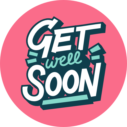 Get Well Soon Bold Lollipop - Suck It & Say