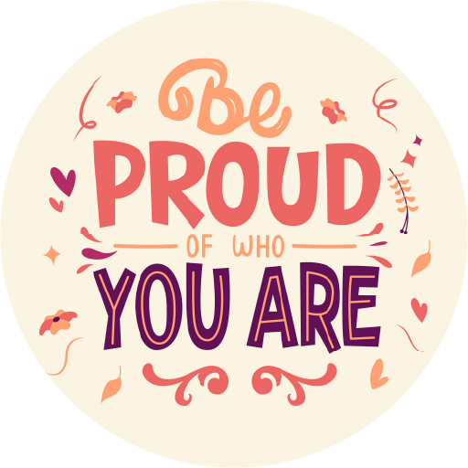 Be Proud Of Who You Are Lollipop - Suck It & Say