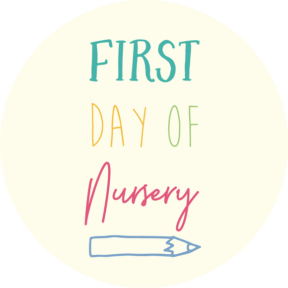 First Day Of Nursery Lollipop - Suck It & Say