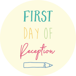First Day Of Reception Pencil Lollipop - Suck It & Say