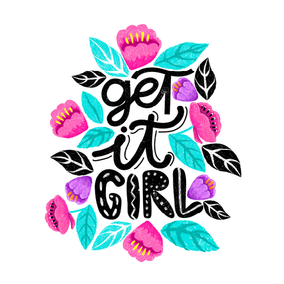 Get It Girl Lollipop - Suck It & Say