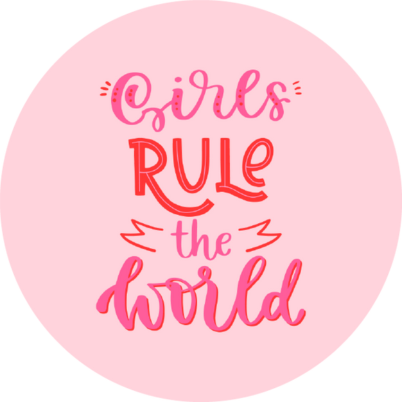 Girls Rule The World Lollipop - Suck It & Say