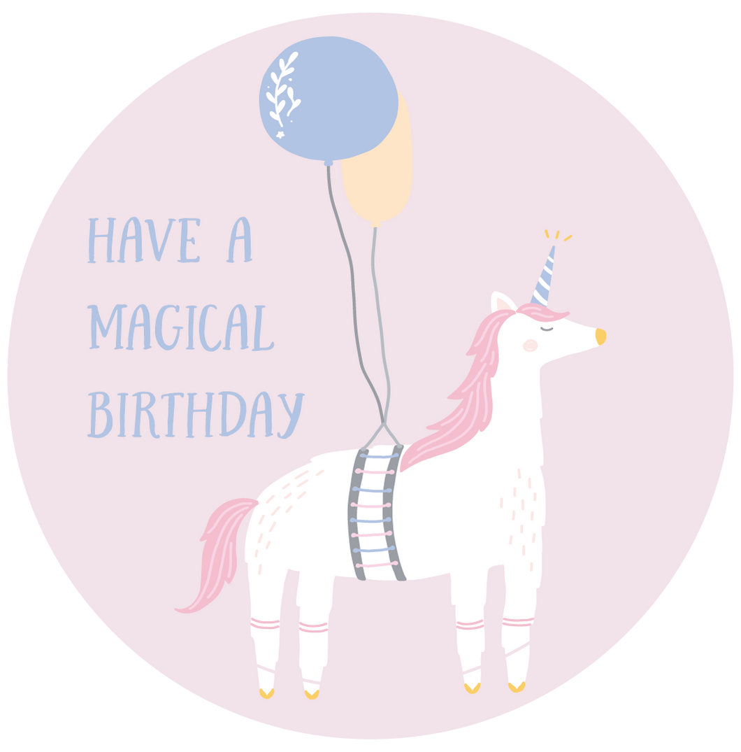 Have A Magical Birthday Lollipop - Suck It & Say
