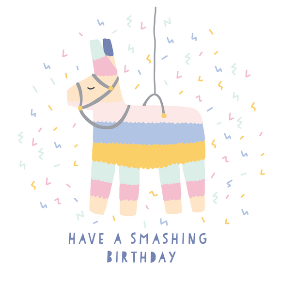 Smashing Birthday Lollipop - Suck It & Say