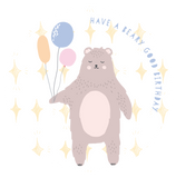 Have a Beary Good Birthday Lollipop - Suck It & Say