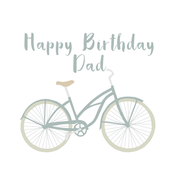 Dad Bike Birthday Lollipop - Suck It & Say
