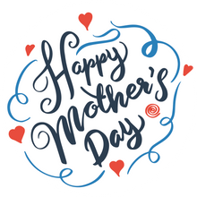 Load image into Gallery viewer, Blue Swirls Mother's Day Lollipop - Suck It & Say