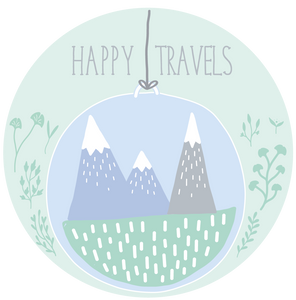 Happy Travels Mountain Lollipop - Suck It & Say