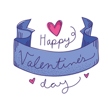 Load image into Gallery viewer, Happy Valentine's Day Banner Lollipop - Suck It & Say