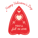 Ouija Board Valentine's Lollipop - Suck It & Say