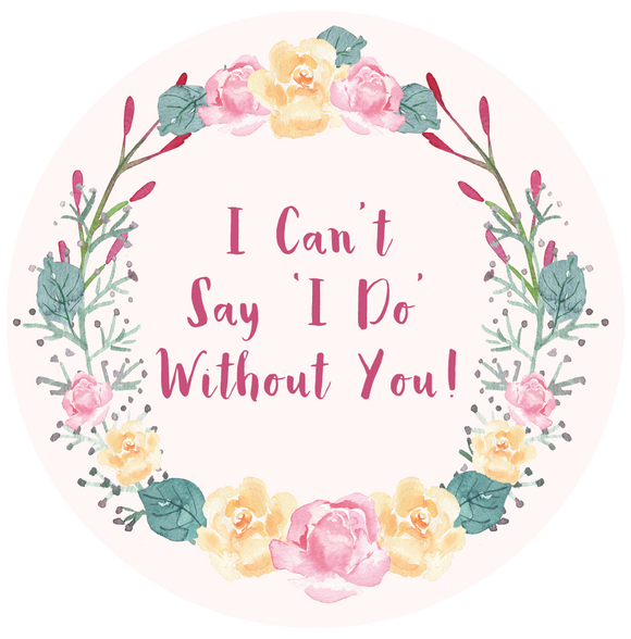 I Can't Say I Do Without You Lollipop - Suck It & Say