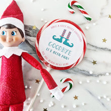 Load image into Gallery viewer, Christmas Elf Arrival & Departure Lollipop Set - Suck It & Say