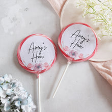 Load image into Gallery viewer, Floral Giant Hen Party Lollipops
