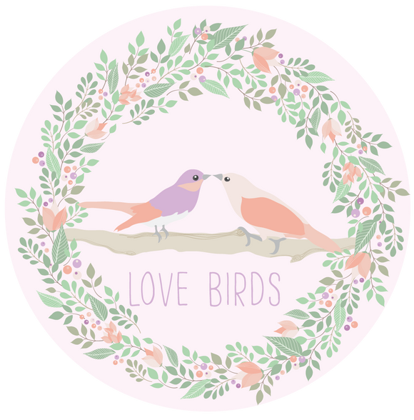 Love Birds Anniversary Lollipop - Suck It & Say