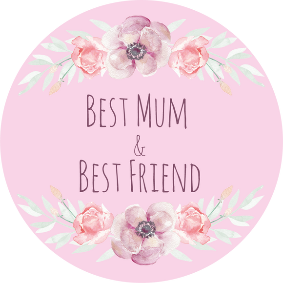 Best Friend & Best Mum Lollipop - Suck It & Say