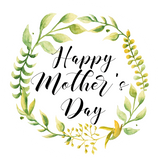 Botanical Wreath Mother's Day Lollipop - Suck It & Say