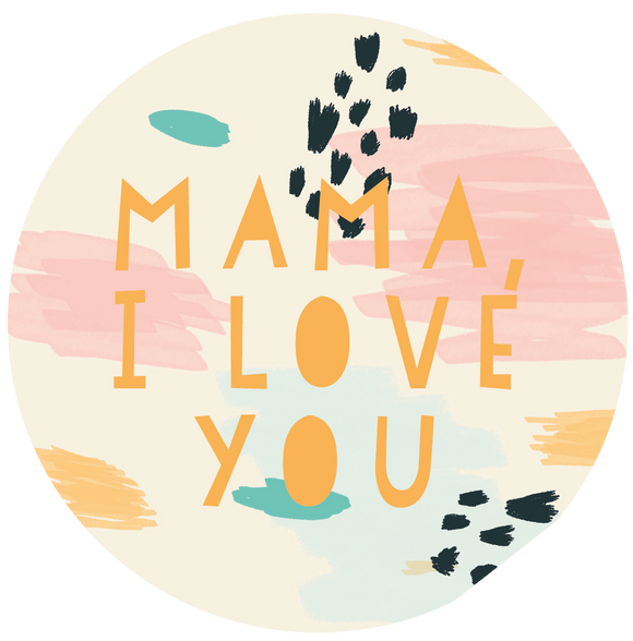 Mama I Love You Mother's Day Lollipop - Suck It & Say