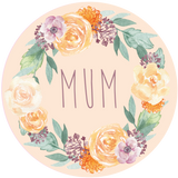 Floral Orange Mother's Day Lollipop - Suck It & Say