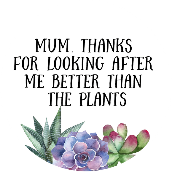 Thanks For Looking After Me Mother's Day Lollipop - Suck It & Say
