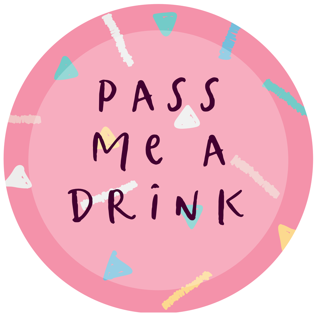 'Pass Me A Drink' Lollipop - Suck It & Say