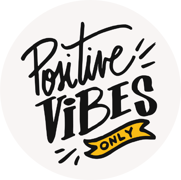 Positive Vibes Only Lollipop - Suck It & Say