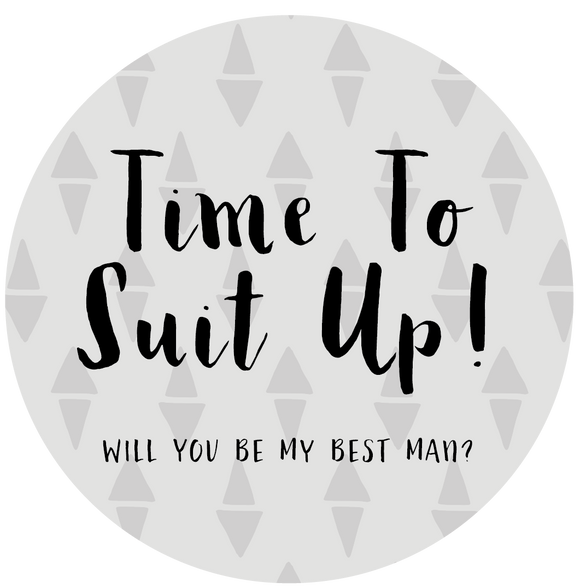 Time To Suit Up - Will You Be My Best Man Lollipop - Suck It & Say