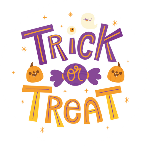 Trick or Treat Lollipop - Suck It & Say
