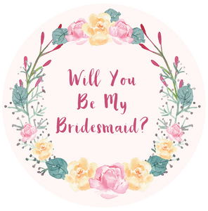 Will You Be My Bridesmaid Lollipop - Suck It & Say