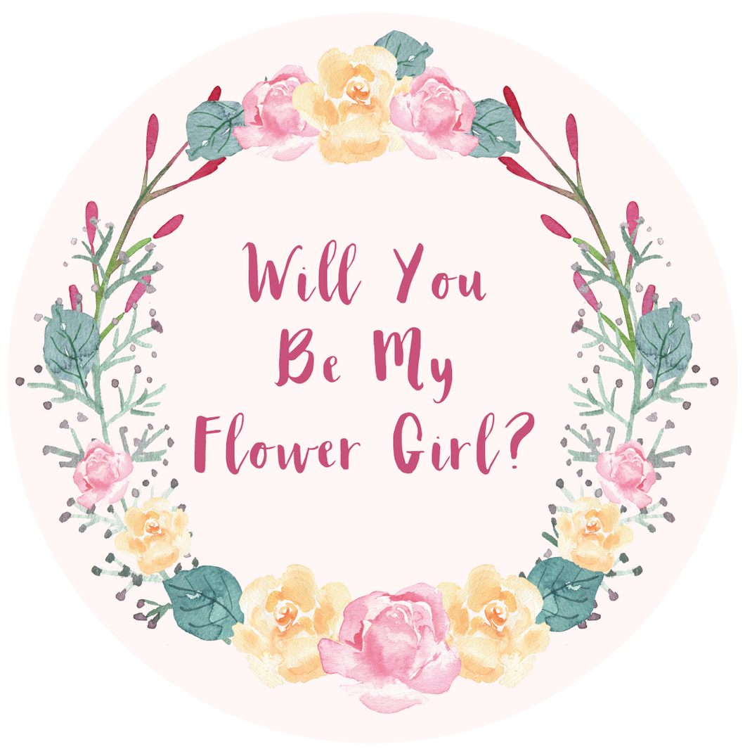 Will You Be My Maid Of Flower Girl Lollipop - Suck It & Say