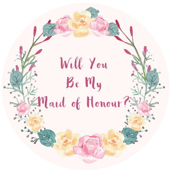 Will You Be My Maid Of Honour Lollipop - Suck It & Say