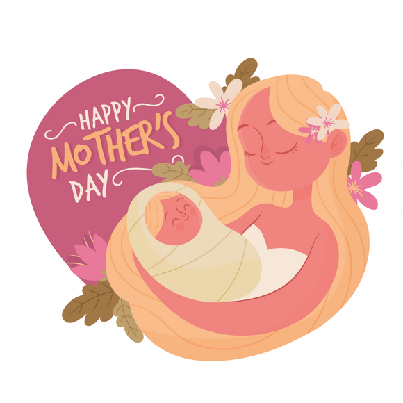 Mum and Baby Mother's Day Lollipop - Suck It & Say