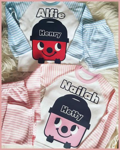 Henry / Hetty Hoover Personalised PJs