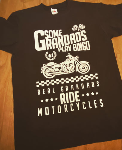 Some Grandads Play Bingo Real Grandads Ride Motorcycles