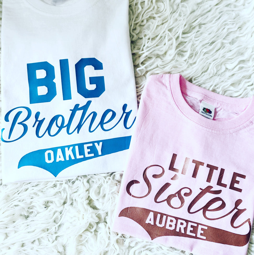 Brother / Sister Personalised Matching