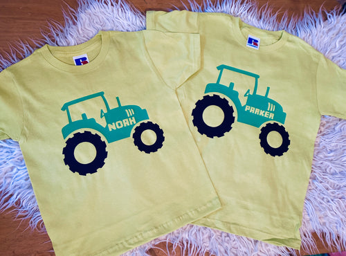 Tractor Matching T-shirts