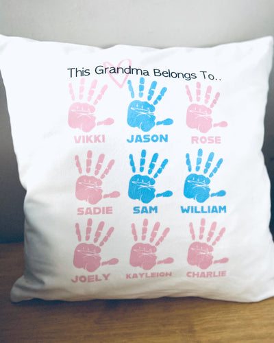 This (Grandma/Nana/Grandad,etc) belongs to.. Cushion