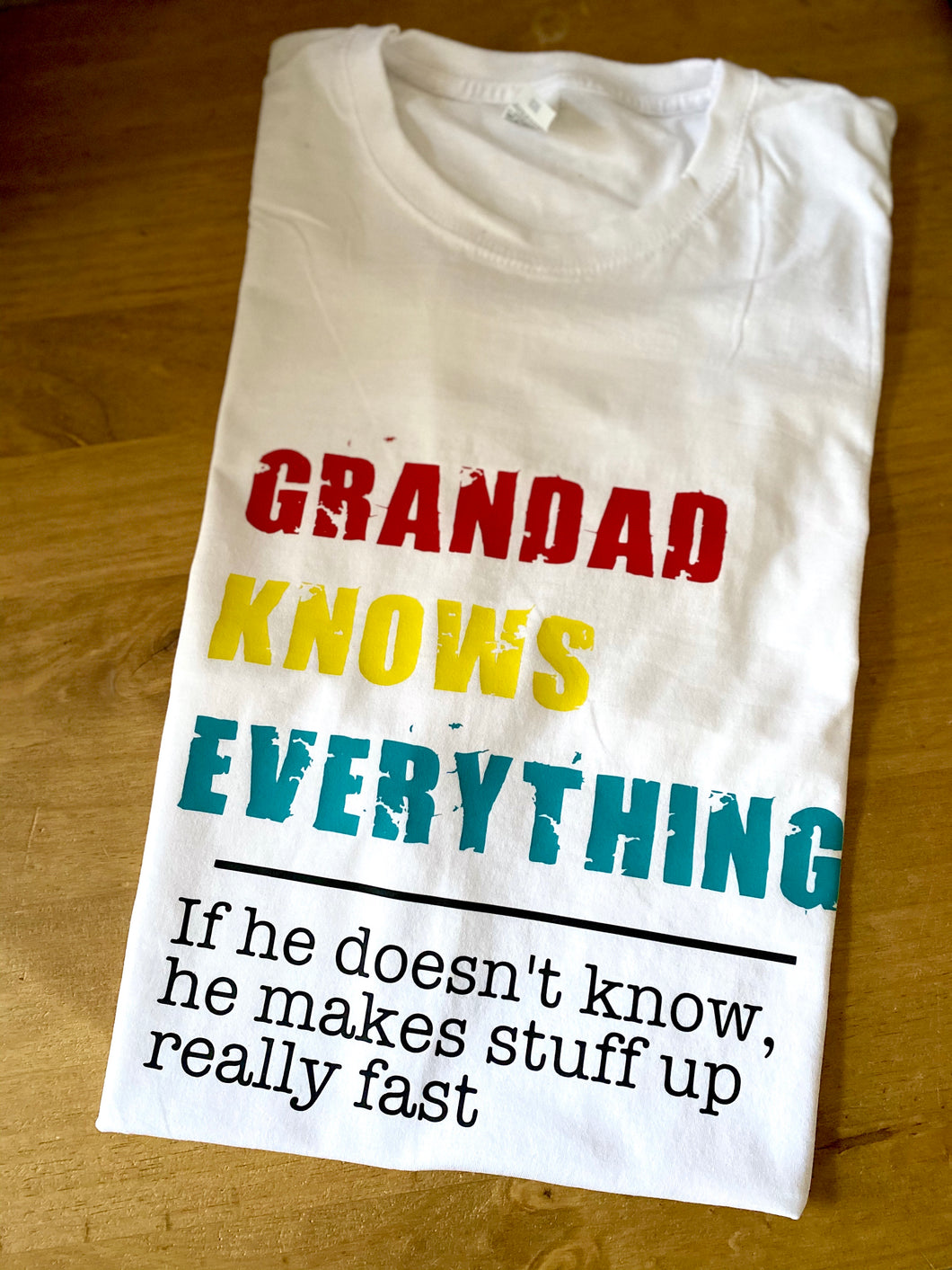 Grandad Knows Everything...
