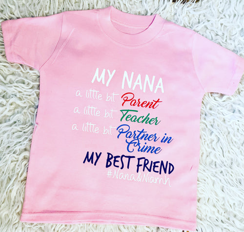 My (Nana/Nanny/Grandad,etc)... a little bit parent, a little bit... Personalised