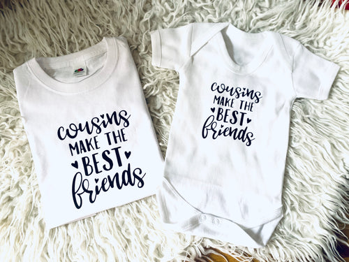 Cousins Best Friends Matching T-shirts