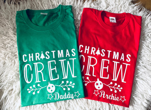Christmas Crew Matching T-shirts