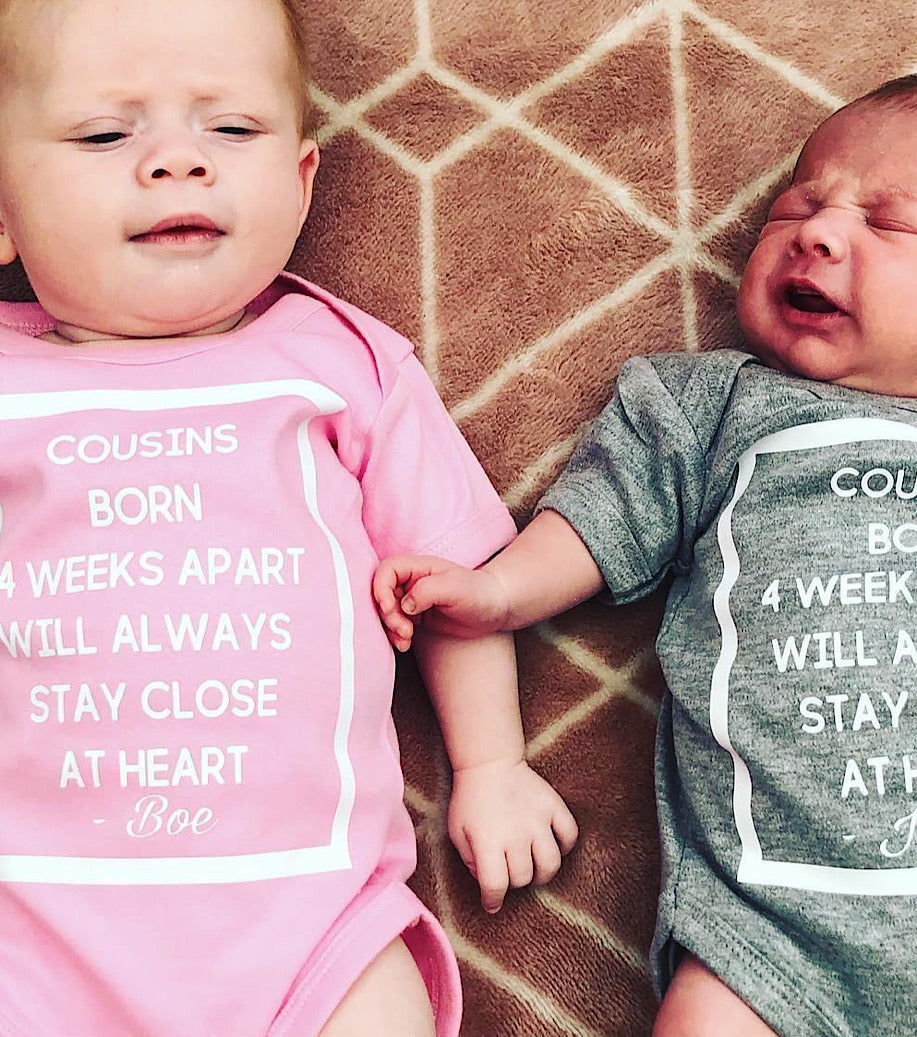 Cousins Born (Hours, Weeks, Months) Apart Will Always Stay Close At Heart
