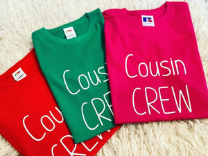 Cousin Crew Matching T-shirts