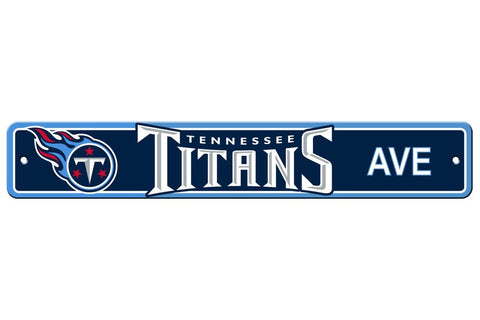 Tennessee Titans Street Sign