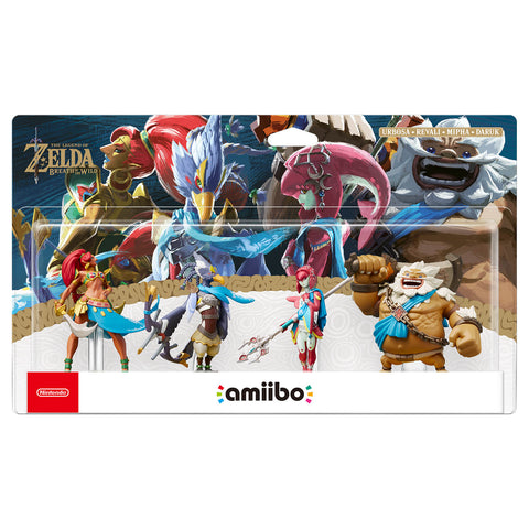 Champion Amiibos 4 Pack - Breath of the Wild