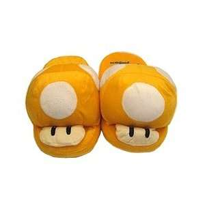 Yellow Mushroom Slippers - Small