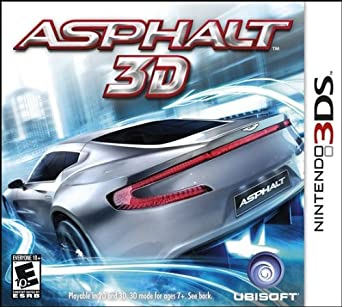 3DS- Asphalt 3D (Cartridge Only)