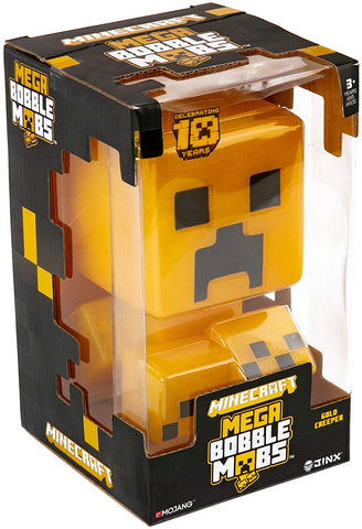 Minecraft Bobble Head: Mega Bobble Mobs - Gold Creeper