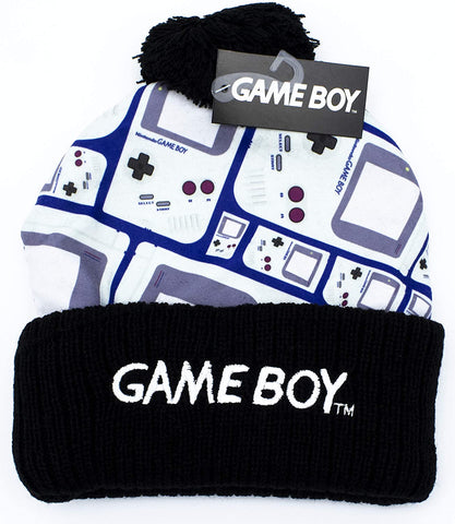 Game Boy Winter Toque with Pom