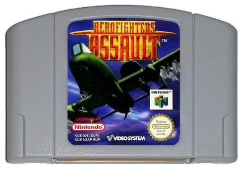 N64- AeroFighters Assault